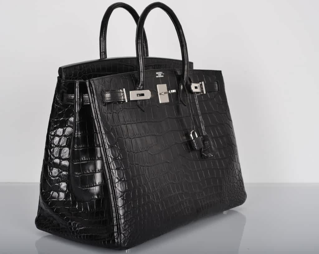 UnlimitingBeliefs-Hermes-Matte-Crocodile-Birkin-Bag